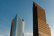 Skyscrapers on the Potsdamer square,Berlin, Germany