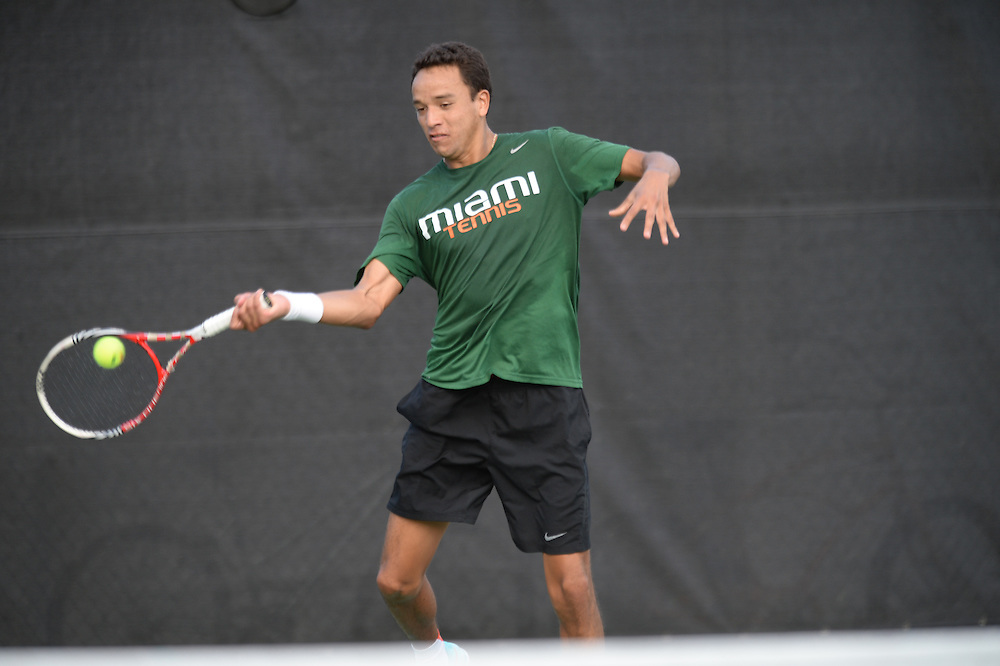 2015 Miami Hurricanes Men's Tennis vs Florida Atlantic