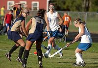 Girls Varsity Field Hockey Gilford versus Sanborn September 8, 2011.