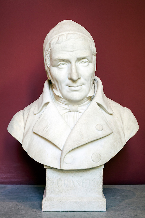Bust of François Marius Granet in Granet museum in Aix-en-Provence, France