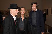 DAVID RENFRY; NICOLE FAHRI; DAVID HARE, Opening of Abstract Expressionism, Royal Academy, Piccadilly, London, 20 September 2016