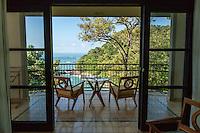 A room with a view at Arenas del Mar Resort, Manuel Antonio, Costa Rica