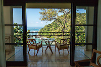 A room with a view at Arenas del Mar Resort, Manuel Antonio, Costa Rica