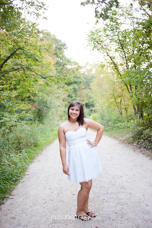 Jackie's senior photos taken at the Matthieu Botanical Gardens in Ann Arbor, Michigan.