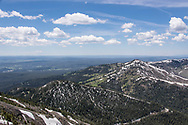 Mount Washburn provides a fantastic vantage point in Yellowstone National Park on July 1, 2017.