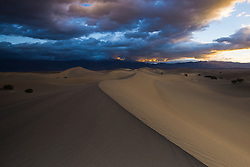 Mesquite Dunes at Sunrise, Death Valley National Park, California, United States of America