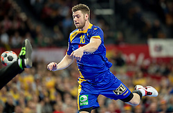 Niclas Ekberg of Sweden during handball match between National teams of Germany and Sweden on Day 4 in Preliminary Round of Men's EHF EURO 2016, on January 18, 2016 in Centennial Hall, Wroclaw, Poland. Photo by Vid Ponikvar / Sportida