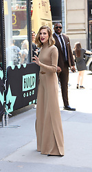 Allison Williams is seen arriving at Build Studios. . 23 May 2019 Pictured: Allison Williams . Photo credit: Joe Russo / MEGA TheMegaAgency.com +1 888 505 6342