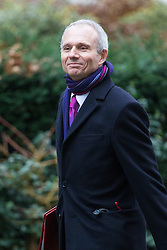 Downing Street, London, February 7th 2017. Leader of the House of Commons David Lidington arrives in Downing Street for the weekly UK cabinet meeting.