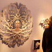 NLD/Amsterdam/20181118- Prinses Margarita geeft rondleiding op Pan Amsterdam, kunst