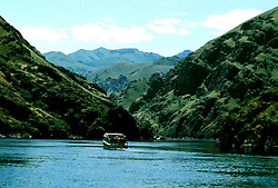 ID: Idaho Hell's Canyon, Snake River, scenic and jet boat    .Photo: idhell103.Photo copyright: Lee Foster, www.fostertravel.com, 510-549-2202, lee@fostertravel.com