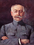 General Francois Paul Anthoine (1860-1944).  During the First World War he commanded the First French Army in 1917.  In November 1917 he was appointed Commander-in-Chief.  Anthoine in 1919.