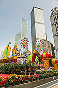 Bank of China Tower from Statue Square Central District Hong Kong.