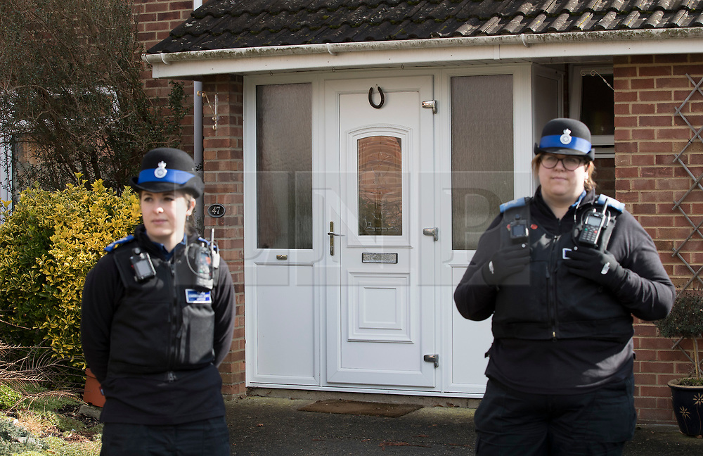 FILE IMAGE © Licensed to London News Pictures. 06/03/2018. Salisbury, UK. Police have reported that they believe the nerve agent used to poison Sergei Skripal and his daughter Yulia was placed on the front door of his house in Salisbury, Wiltshire. The couple where found unconscious on bench in Salisbury shopping centre. Photo credit: Peter Macdiarmid/LNP