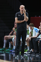 Jure Zdovc, head coach of Slovenia during basketball match between Latvia and Slovenia at Day 8 in Round of 16 of FIBA Europe Eurobasket 2015, on September 12, 2015, in LOSC Lile stadium, Croatia. Photo by Marko Metlas / MN PRESS PHOTO / SPORTIDA
