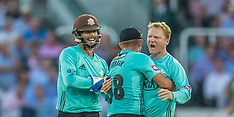 5 Jul 2018 - Middlesex v Surrey in the Vitality Blast T20 cricket match at Lords.