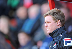 Bournemouth Manager, Eddie Howe - Photo mandatory by-line: Alex James/JMP - Tel: Mobile: 07966 386802 26/12/2013 - SPORT - FOOTBALL - Goldsands Stadium - Bournemouth - AFC Bournemouth v Yeovil Town - Sky Bet Championship