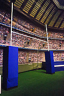 Picture by Paul Terry/.17/03/12.A General View of the 02 blue room before the England v Ireland RBS Six nations match at Twickenham stadium, London.
