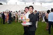 WAITERS, Cartier International Polo Day at the Guards Polo Club. Windsor. July 26  2009