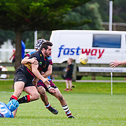 Action during the rugby union game played between Paremata-Plimmerton   v Avalon  played at  ngatitoa domain , Mana, Wellington, New Zealand, on 22 June 2019.   Final score 25-25.