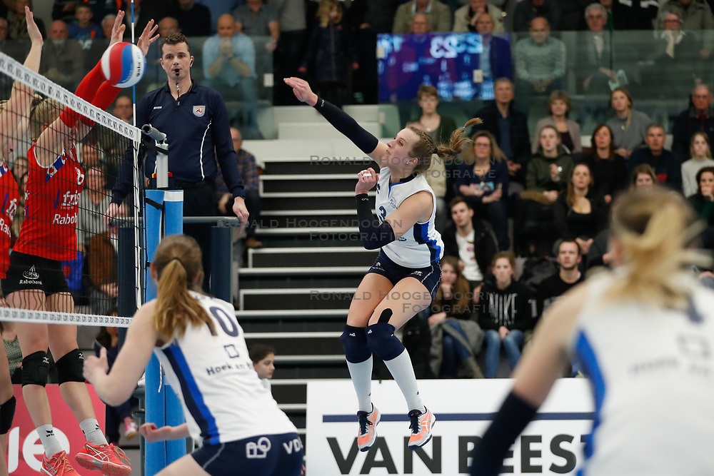 20180303 NED: Eredivisie Sliedrecht Sport - VC Sneek, Sliedrecht <br />Esther Hullegie (3) of Sliedrecht Sport <br />©2018-FotoHoogendoorn.nl / Pim Waslander
