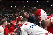 Time out Armani Milano, Ax Armani Exchange Olimpia Milano vs Khimki Moscow Region - EuroLeague 2017/2018, Milano Mediolanum Forum 7 dicembre 2017 - foto Bertani/Ciamillo-Castoria
