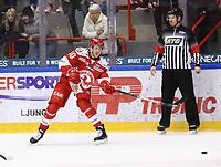 2020-03-07   Ljungby, Sverige: Troja-Ljungby (40) Hampus Melén under matchen i Hockeyettan mellan IF Troja/Ljungby och Bodens HF i Ljungby Arena ( Foto av: Fredrik Sten   Swe Press Photo )<br /> <br /> Nyckelord: Ljungby, Ishockey, Hockeyettan, Ljungby Arena, IF Troja/Ljungby, Bodens HF, fstb200307, playoff, kval