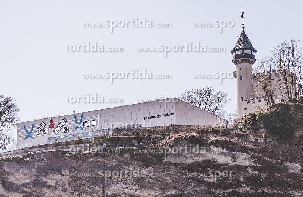 THEMENBILD - das Museum der Moderne am Mönchsberg, aufgenommen am 31. März 2019 in Salzburg, Oesterreich // the Museum der Moderne at Mönchsberg, Austria on 2019/03/31. EXPA Pictures © 2019, PhotoCredit: EXPA/Stefanie Oberhauser