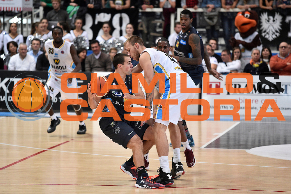 Craft Aaron<br /> Dolomiti Energia Trento - Vanoli Cremona<br /> Lega Basket Serie A 2016/2017<br /> Trento 09/10/2016<br /> Foto Ciamillo-Castoria