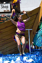 California: San Francisco Carnaval festival parade in the Mission District. Photo copyright Lee Foster. Photo # 30-casanf81175