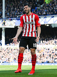 Southampton's Graziano Pelle shows a look of dejection after his shot goes wide - Photo mandatory by-line: Matt McNulty/JMP - Mobile: 07966 386802 - 04/04/2015 - SPORT - Football - Liverpool - Goodison Park - Everton v Southampton - Barclays Premier League