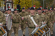 Royal Regiment of Fusiliers welcomed home to Balham following a tour of duty in Afghanistan