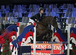 Douce Jasper, (BEL), Belouth Z <br /> Super Final Youth Cup VLP-LRV<br /> Vlaanderen Kerstjumping - Memorial Eric Wauters - <br /> Mechelen 2015<br /> © Hippo Foto - Dirk Caremans<br /> 30/12/15