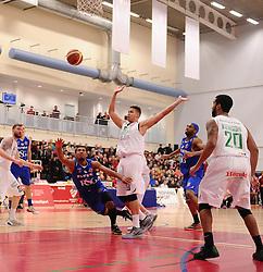Bristol Flyers' Dwayne Lautier-Ogunleye  - Photo mandatory by-line: Joe Meredith/JMP - Mobile: 07966 386802 - 21/02/2015 - SPORT - Basketball - Bristol - SGS Wise Campus - Bristol Flyers v Plymouth Uni Raiders - British Basketball League