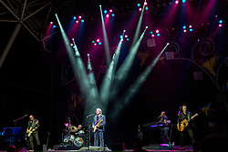 July 2, 2017 - Milwaukee, Wisconsin, U.S - KENNY LEE LEWIS, GORDY KNUDTSON, STEVE MILLER, JOSEPH WOOTEN and JACOB PETERSON of The Steve Miller Band performs live at Henry Maier Festival Park during Summerfest in Milwaukee, Wisconsin (Credit Image: © Daniel DeSlover via ZUMA Wire)