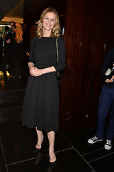 EVA HERZIGOVA at the Launch Of Alain Ducasse's Rivea Restaurant At The Bulgari Hotel, 171 Knightsbridge, London on 8th May 2014.
