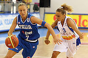 DESCRIZIONE : Ortona Italy Italia Eurobasket Women 2007 Serbia Italia Serbia Italy<br /> GIOCATORE : Francesca Zara<br /> SQUADRA : Nazionale Italia<br /> EVENTO : Eurobasket Women 2007 Campionati Europei Donne 2007 <br /> GARA : Serbia Italia Serbia Italy<br /> DATA : 01/10/2007 <br /> CATEGORIA : Palleggio<br /> SPORT : Pallacanestro <br /> AUTORE : Agenzia Ciamillo-Castoria/E.CastoriaGalleria : Eurobasket Women 2007 Fotonotizia : Ortona Italy Italia Eurobasket Women 2007 Serbia Italia Serbia Italy<br /> Predefinita :