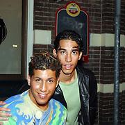 Gouden CD Jody Bernal, Jody en Ajax voetballer Daniel Cruz