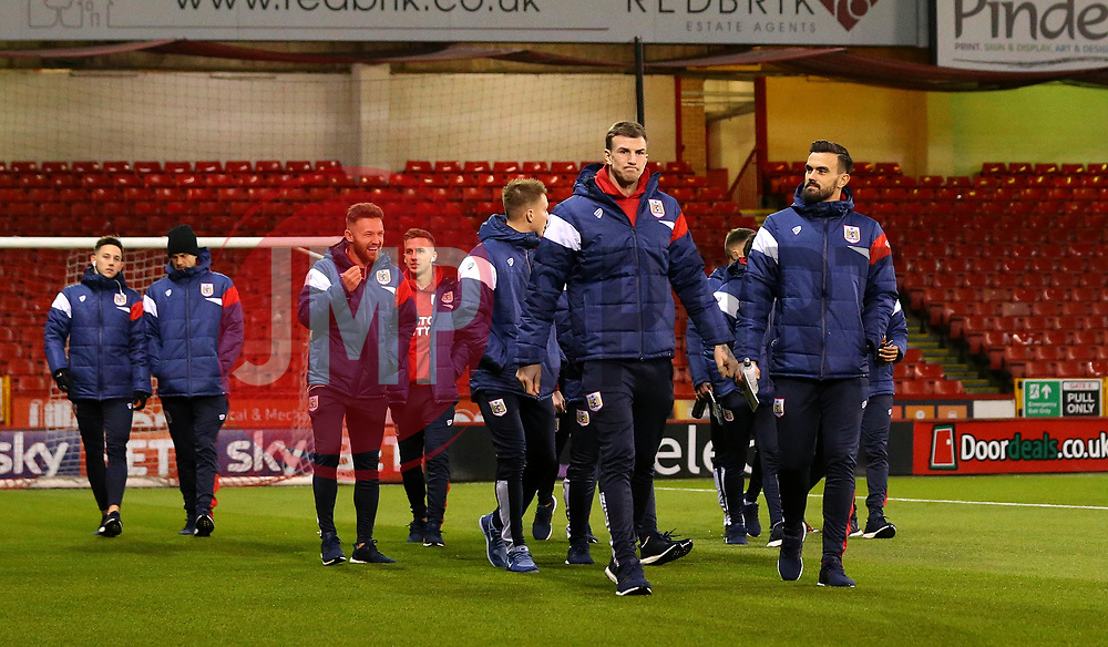 Bristol City arrive at Bramall Lane for the fixture against Sheffield United - Mandatory by-line: Robbie Stephenson/JMP - 08/12/2017 - FOOTBALL - Bramall Lane - Sheffield, England - Sheffield United v Bristol City - Sky Bet Championship