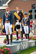 Prijsuitreiking Grand Prix<br /> NK dressuur 2018<br /> © DigiShots