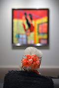 Nederland, Maastricht, 16-3-2016 Tefaf, The European Fine Art Fair in het MECC. Dit is de grootste kunstbeurs in Europa en ter wereld. 29e editie. Onder de topstukken bevindt zich een vroeg werk van Rembrandt van Rijn, uit de serie zintuigen is het de Reuk, geur.Een van de duurste objecten is een manuscript van de Gebroeders Van Limburg uit circa 1407, met dertig tekeningen.Foto: Flip Franssen