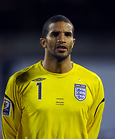 David James<br /> England 2008/09<br /> Croatia V England (1-4) World Cup 2010 Qualifying Match 10/09/08<br /> Photo Robin Parker Fotosports International