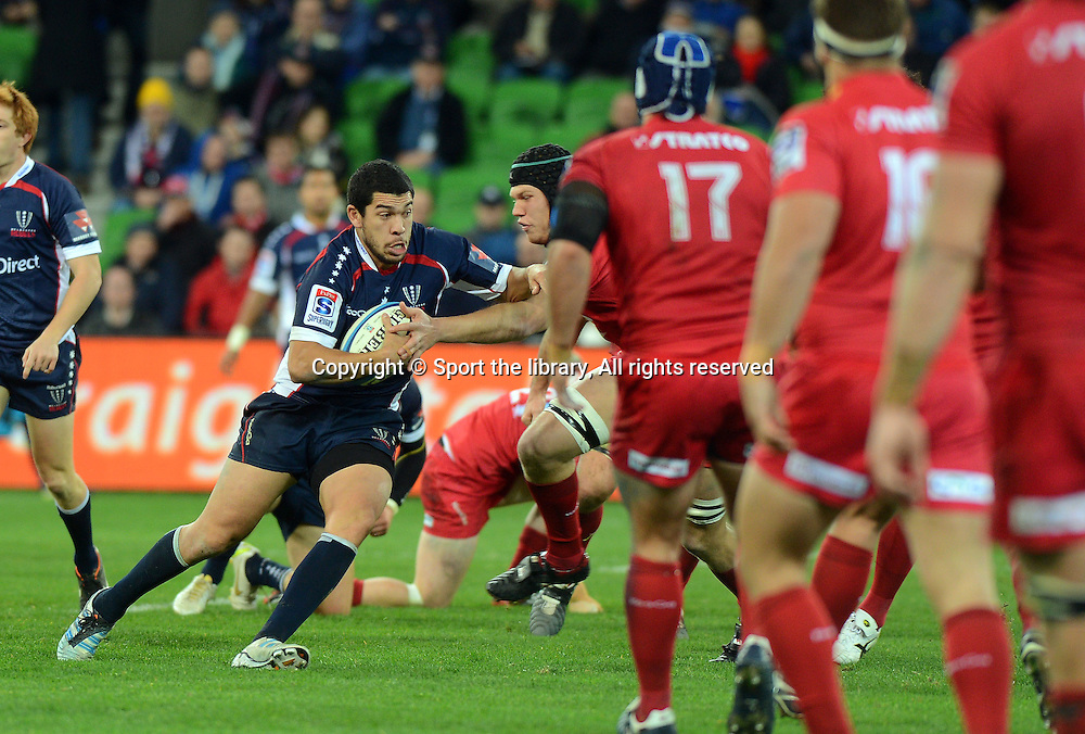 Mark Gerrard (Rebels)<br /> Rugby Union - 2012 Super Rugby<br /> Melbourne Rebels vs QLD Reds<br /> AAMI Park, Melbourne<br /> Friday 29 June 2012<br /> &copy; Sport the library/ Jeff Crow