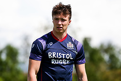 Charlie Powell (Academy U18s) of Bristol Rugby looks on ahead of the game - Rogan/JMP - 05/08/2017 - RUGBY UNION - Cleve RFC - Bristol, England - Bristol Rugby v Harlequins - Pre-Season Friendly.