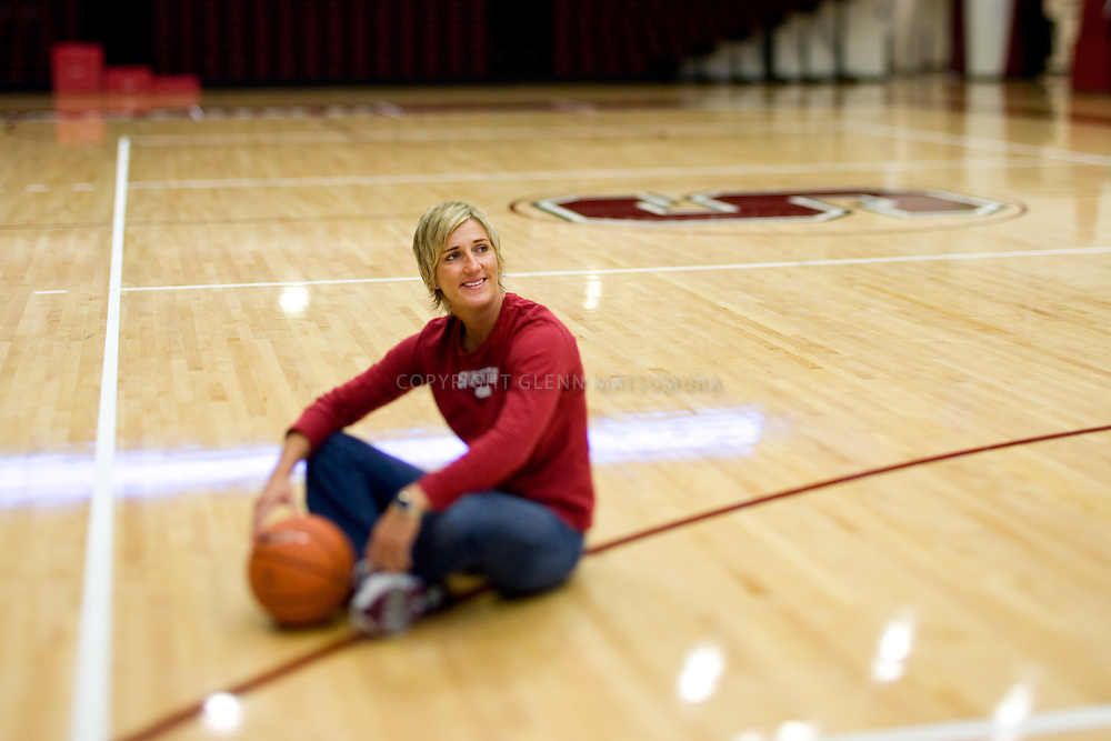 Stanford walkon Kate Paye, now Stanford Women's basketball assistant coach.