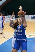 Pomezia, 17/05/2015<br /> Basket, Nazionale italiana Femminile <br /> Amichevole <br /> Italia - Gran Bretagna<br /> Nella foto: Maria Laterza<br /> Foto Ciamillo