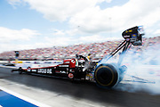 April 22-24, 2016: NHRA 4 Wide Nationals: Ritchie Crampton, Top Fuel burnout