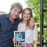 NLD/Amsterdam/20160509 - Boekpresentatie 'Het boek van Jet', Matthijs van Nieuwkerk en dochter Jet van Nieuwkerk