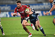 Kieron Fonotia during the Super Rugby match between The Blues and Crusaders at Eden Park in Auckland, New Zealand. Saturday 6 June 2015. Copyright Photo: Andrew Cornaga / www.Photosport.co.nz