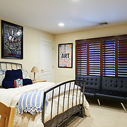 CHERRY HILL, NJ - DECEMBER 23, 2016: The middle front bedroom on the second floor shares a bathroom with the front bedroom.  9 Gwen Court, Cherry Hill, NJ. Credit: Albert Yee for the New York Times